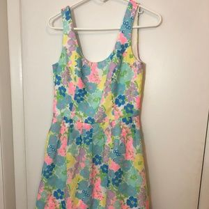 Lilly Pulitzer Multi Color Floral Dress